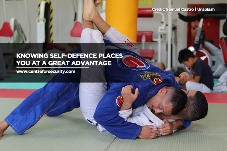 Knowing self-defence places you at a great advantage